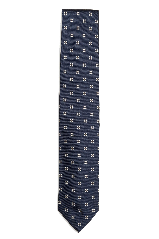 SBU 01578_19AW Cravatta classica in seta realizzata a mano 01