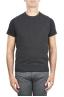 SBU 01486_19AW Anthracite round neck merino wool and cashmere sweater vest 01