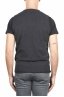 SBU 01486_19AW Anthracite round neck merino wool and cashmere sweater vest 05