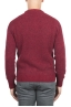 SBU 01472_19AW Red crew neck sweater in boucle merino wool extra fine 05