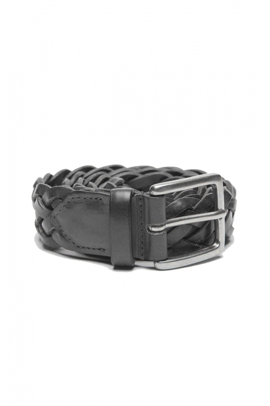 SBU 01235_19AW Classic belt in black calfskin leather 1.2 inches 01