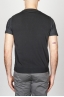 SBU - Strategic Business Unit - Classic Cotton Knit Black Sleeveless Cardigan Vest