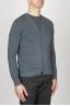 SBU - Strategic Business Unit - Classic Pure Cotton Knit Grey Cardigan