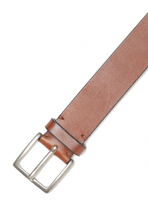SBU 01255_19AW Classic belt in natural calfskin leather 1.4 inches 01