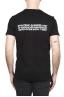 SBU 01786_19AW Camiseta negra con cuello redondo estampado aniversario 25 años 01