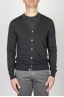 SBU - Strategic Business Unit - Classic Pure Cotton Knit Black Cardigan