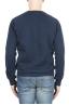 SBU 01796_19AW Hand printed crewneck blue sweatshirt 04