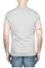 SBU 01798_19AW Round neck mélange grey t-shirt printed by hand 04