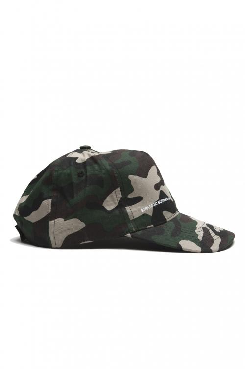 SBU 01809_19AW Classic cotton baseball cap camouflage green 01