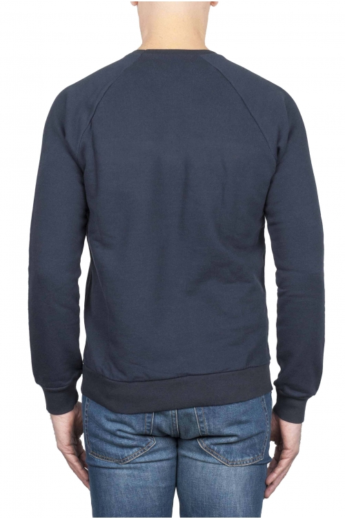SBU 01466_19AW Strategic Business Unit logo printed crewneck sweatshirt 01