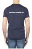 SBU 01163_19AW Shirt classique blue marine col rond manches courtes en coton 01