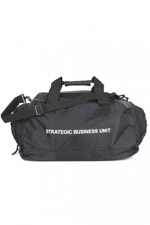 SBU 01037_19AW Large nylon duffel bag 01