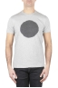 SBU 01169_19AW Classic short sleeve cotton round neck t-shirt black and grey printed graphic 01