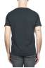 SBU 01636_19AW T-shirt à col rond en coton flammé anthracite 05