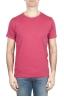 SBU 01643_19AW Camiseta de algodón con cuello redondo en color rojo 01