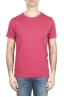 SBU 01643_19AW Flamed cotton scoop neck t-shirt red 01