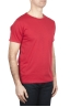 SBU 01647_19AW Flamed cotton scoop neck t-shirt red 02