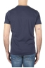 SBU 01750_19AW Classic short sleeve cotton round neck t-shirt navy blue 05