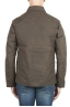 SBU 01561_19AW Wind and waterproof hunter jacket in green oiled cotton 05
