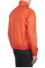 SBU 01687_19AW Windbreaker bomber jacket in orange ultra-lightweight nylon 03