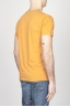 SBU - Strategic Business Unit - Classic Short Sleeve Flamed Cotton Scoop Neck T-Shirt Yellow