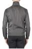 SBU 01564_19AW Windbreaker bomber jacket in grey ultra-lightweight nylon 05