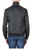 SBU 01565_19AW Windbreaker bomber jacket in black ultra-lightweight nylon 05