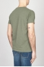 SBU - Strategic Business Unit - Classic Short Sleeve Flamed Cotton Scoop Neck T-Shirt Light Green
