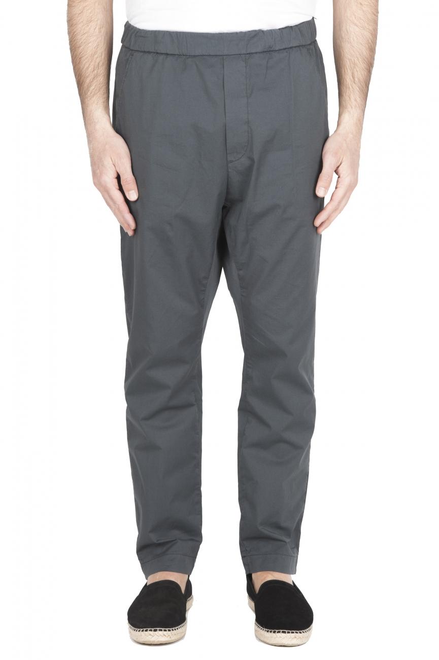 SBU 01782_2020SS Pantalon jolly ultra-léger en coton stretch gris 01