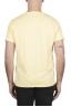 SBU 01973_2020SS T-shirt à col rond en coton flammé jaune 05