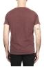 SBU 01977_2020SS Camiseta de algodón con cuello redondo en color rojo ladrillo 05