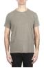 SBU 01978_2020SS T-shirt à col rond en coton flammé vert olive 01