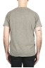 SBU 01978_2020SS Flamed cotton scoop neck t-shirt olive green 05