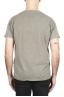 SBU 01978_2020SS T-shirt à col rond en coton flammé vert olive 05