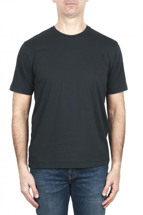SBU 01981_2020SS T-shirt girocollo in puro cotone antracite 01