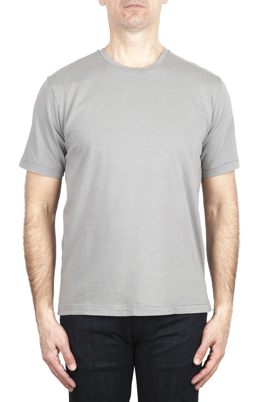 SBU 01983_2020SS ピュアコットンラウンドネックTシャツグレー 01