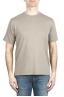 SBU 01985_2020SS Pure cotton round neck t-shirt military green 01