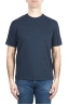 SBU 01986_2020SS Pure cotton round neck t-shirt navy blue 01