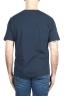 SBU 01986_2020SS Camiseta de algodón puro con cuello redondo azul marino 05