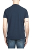 SBU 01989_2020SS Camiseta clásica de piqué de algodón azul marino 05