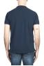 SBU 01989_2020SS T-shirt classique en coton piqué bleu marine 05