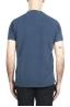 SBU 01993_2020SS T-shirt girocollo in cotone piqué blu 05