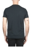 SBU 01994_2020SS Camiseta de algodón negro de cuello redondo y bolsillo de parche 05