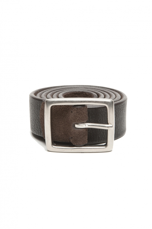 SBU 02806_2020SS Reversible brown and black leather belt 1.2 inches 01