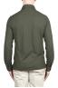 SBU 02047_2020SS Camicia in crepe di cotone ultraleggero verde 05