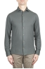 SBU 02049_2020SS Grey lightweight cotton crepe shirt  01