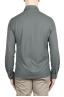 SBU 02049_2020SS Grey lightweight cotton crepe shirt  05