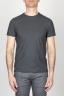 SBU - Strategic Business Unit - 古典的な短い袖のコットンラウンドネック灰色のTシャツ