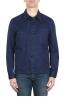 SBU 02070_2020SS Veste à poches multiples sans doublure en coton indigo 01