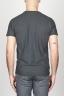 SBU - Strategic Business Unit - Classic Short Sleeve Flamed Cotton Round Neck Grey T-Shirt